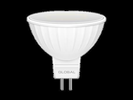 LED лампа GLOBAL MR16 5W мягкий свет 220V GU5.3 (1-GBL-113) (NEW), фото 2