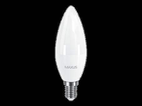 LED лампа MAXUS C37 CL-F 8W 4100K 220V E14 (1-LED-5318), фото 2