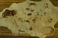 Картина из дерева(шпон,дерево,лак) ручная работа,техника-МАРКЕТРИ