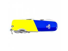 Нож Ego A01.12, синежелтый, фото 2