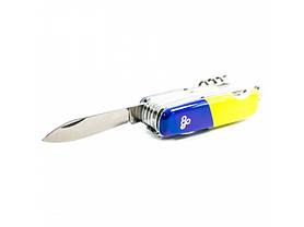 Нож Ego A01.12, синежелтый, фото 3