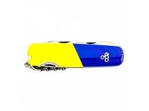 Нож Ego A01.11.1, синежелтый, фото 2