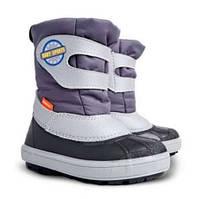 Зимові чобітки (зимние дутики) Demar Baby sports сірий 24/25