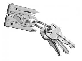 Swiss+Tech Micro-Max 19-in-1 Key Ring Multi-Function Tool