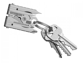 Swiss+Tech Micro-Max 19-in-1 Key Ring Multi-Function Tool, фото 2