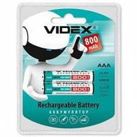 Аккумулятор VIDEX R3 (AАА), 800mAh Ni-MH