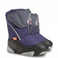 Зимові чобітки (зимние дутики) Demar Doggy фіолетовий