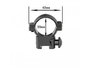 Крепление на оружие для фонаря 25-Z (планка Вивера 11 мм), фото 2
