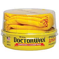 Полироль-защита с воском Карнауба пастообразная очищающая Doctor Wax DW8203 227 г.