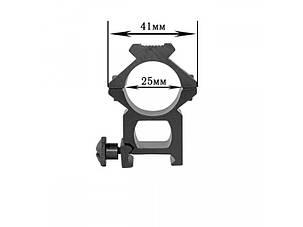 Крепление на оружие для фонаря 25GK-V2 (планка Вивера 19 мм), фото 2