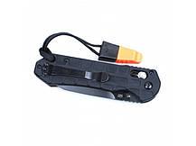 Нож Ganzo G7453P-WS (черный, оранжевый), фото 2
