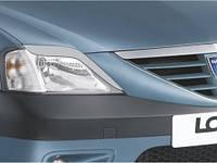 Реснички на фары Dacia Logan 2005 +