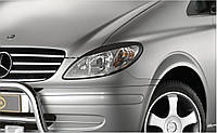 Реснички на фары Mercedes Vito 639 2003+ Viano вито виано