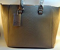 Бежевая женская сумка be exausivе из кожзама  22553