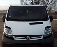 Реснички на фары Renault Trafic\ Opel Vivaro\ Nissan Primastar (Виваро;Трафик;Примастар)