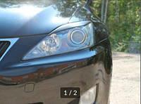 Реснички на фары для Lexus IS 250 2005-2010 г.в.