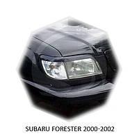 Реснички на фары Subaru FORESTER 2000-2002 г.в. субару форестер