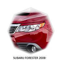 Реснички на фары Subaru FORESTER 2008+ г.в. субару форестер