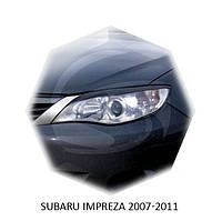 Реснички на фары Subaru IMPREZA 2007-2011 г.в. субару импреза