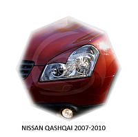 Реснички на фары Nissan QASHQAI 2007-2010 г.в. Нисан Кашкай