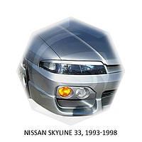 Реснички на фары Nissan SKYLINE 33, 1993-1998 г.в. Нисан Скайлайн