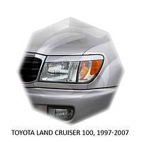 Реснички на фары Toyota LAND CRUISER 100, 1997-2007 г.в. Тойота Ленд Крузер