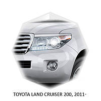 Реснички на фары Toyota LAND CRUISER 200, 2011+ г.в. Тойота Ленд Крузер