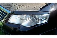 Реснички на фары Volkswagen PASSAT B6, 2005-2010 г.в.