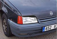 Реснички на фары Opel Kadett 1984-1993 г.в.(Опель Кадет)
