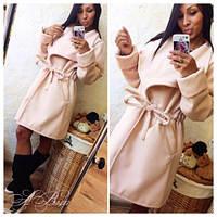 Пальто женское кашемировое модное 186