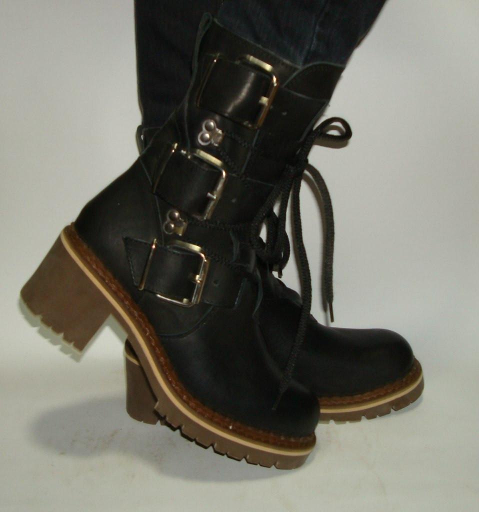 Ботинки  кожаные женские JAR CAS