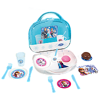 Посудка набор в чемодане Frozen Smoby 310524