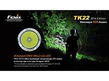 Фонарь Fenix TK22 (2014 Edition) Cree XM-L2 (U2) LED, фото 2