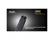 Фонарь Fenix E05 R2 черный в подарочной упаковке, фото 3