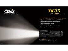 Фонарь Fenix TK35 Cree XM-L2 (U2) LED, фото 3