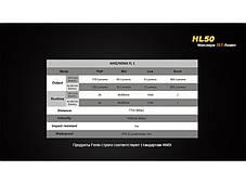 Фонарь Fenix HL50 Cree XM-L2 (Т6), фото 3