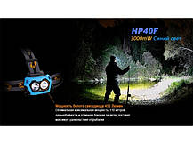 Фонарь Fenix HP40F XP-G2 (R5), фото 3