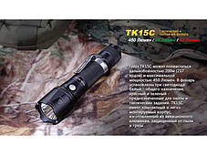 Тактический фонарь Fenix TK15C Cree XP-G2 R5, фото 3