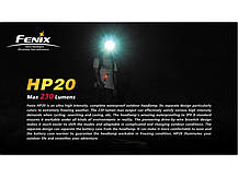 Налобный фонарь Fenix HP20 Cree XP-G R5, фото 2