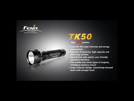Фонарь Fenix TK50 Cree XP-G (R5), фото 2