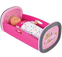 Кроватка колыбель для куклы Baby Nurse Smoby 220313