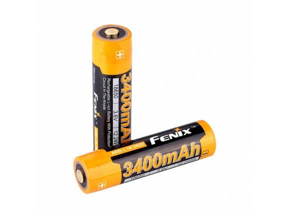 Аккумулятор 18650 Fenix ARB-L18 (3400mAh), фото 2