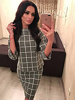 Женский теплый  костюм юбка + кофта кашемир