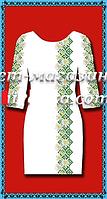 Белое женское платье, заготовка для вышивки,  до 52 р, 390/350 (цена за 1 шт. + 40 гр.)