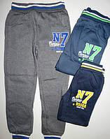 Спортивные брюки с начесом для мальчиков EVIL 4,6,10-12 лет