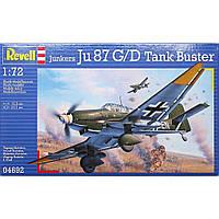 Сборная модель Revell Бомбардировщик Junkers Ju 87 G/D Tank Buster 1:72 (4692)
