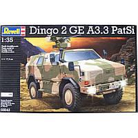 Сборная модель Revell Бронеавтомобиль ATF Dingo 2 GE A3.3 PatSi 1:35 (3242)