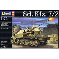 Сборная модель Revell Полугусеничный тягач Sd.Kfz. 7/2 1:72 (3207)