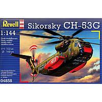 Сборная модель Revell Тяжёлый транспортный вертолёт Sikorsky CH-53G 1:144 (4858)