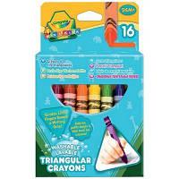 Набор для творчества Crayola 16 трехгранных восковых мелков (52-016T)